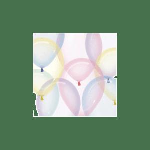 Kristall-Luftballons