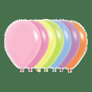 Neon-Luftballons