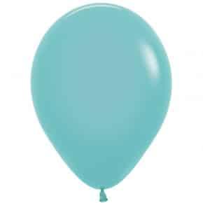 Öko-Luftballon Farbe Aquamarin
