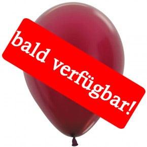 Bald verfügbar: Öko-Luftballon Burgunder-Metallic