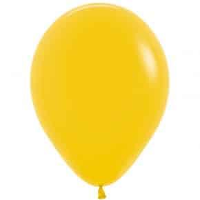 Öko-Luftballon Farbe Gelbgold