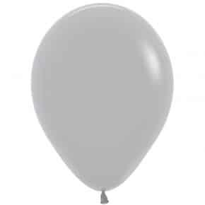 Öko-Luftballon Farbe Grau