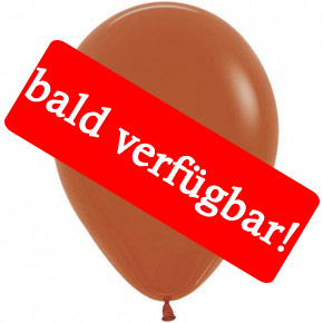 Bald verfügbar: Öko-Luftballon Hellbraun