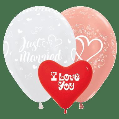 Öko-Luftballon Hochzeit & Liebe