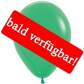 Bald verfügbar: Öko-Luftballon Jadegrün