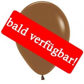 Bald verfügbar: Öko-Luftballon Kaffeebraun