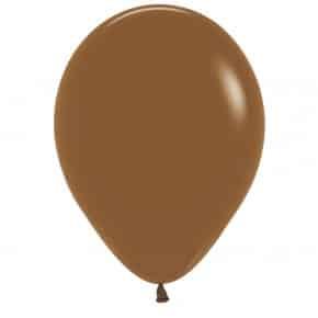 Öko-Luftballon Farbe Kaffeebraun