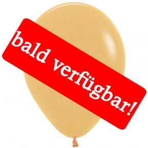Bald verfügbar: Öko-Luftballon Karamell