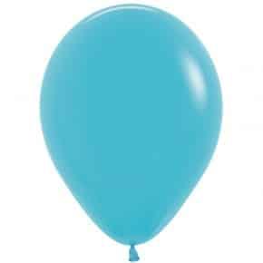 Öko-Luftballon Farbe Karibikblau