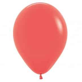 Öko-Luftballon Farbe Koralle