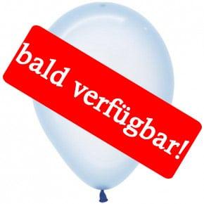 Bald verfügbar: Öko-Luftballon Kristallpastell-Bla