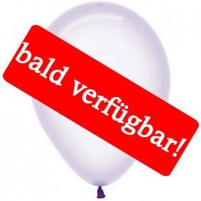 Bald verfügbar: Öko-Luftballon Kristallpastell-Flieder
