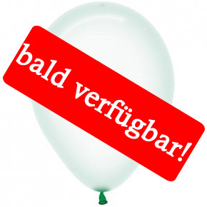 Bald verfügbar: Öko-Luftballon Kristallpastell-Grün