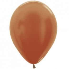 Öko-Luftballon Kupfer Metallic