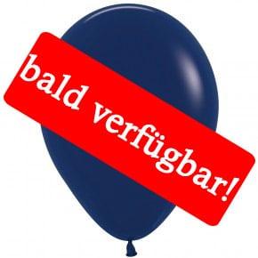 Bald verfügbar: Öko-Luftballon Marineblau