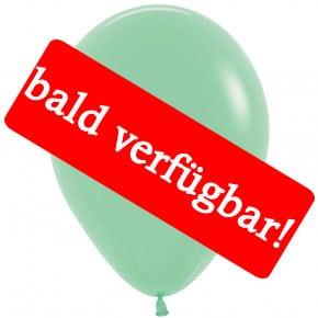 Bald verfügbar: Öko-Luftballon Mintgrün