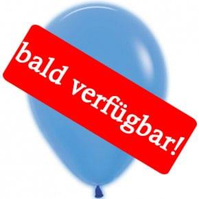Bald verfügbar: Öko-Luftballon Neon-Blau