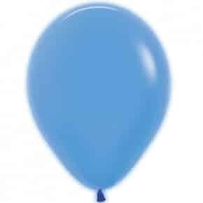 Öko-Luftballon Neon Blau