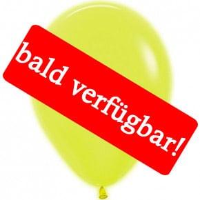Bald verfügbar: Öko-Luftballon Neon-Gelb
