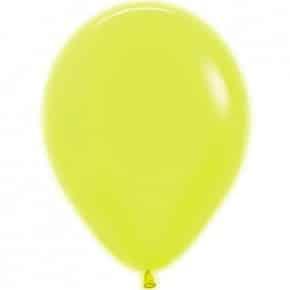 Öko-Luftballon Neon Gelb