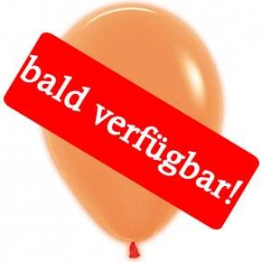 Bald verfügbar: Öko-Luftballon Neon-Orange