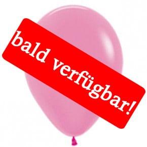 Bald verfügbar: Öko-Luftballon Neon-Pink