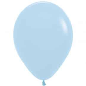 Öko-Luftballon Pastellblau matt