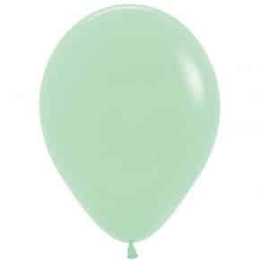 Öko-Luftballon Pastellgrün matt