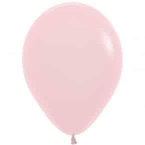 Öko-Luftballon Pastellrosa matt