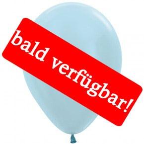 Bald verfügbar: Öko-Luftballon Samt-Blau