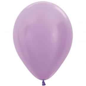 Öko-Luftballon Samt Flieder