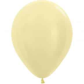 Öko-Luftballon Samt Gelb