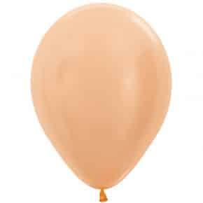Öko-Luftballon Samt Hautfarbe