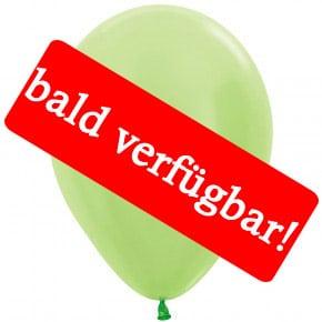 Bald verfügbar: Öko-Luftballon Samt-Hellgrün