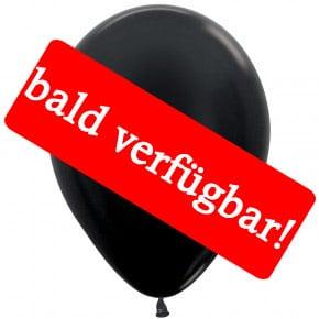 Bald verfügbar: Öko-Luftballon Schwarz-Metallic