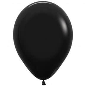 Öko-Luftballon Farbe Schwarz