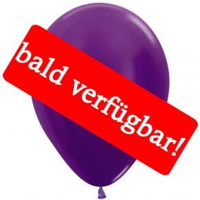 Bald verfügbar: Öko-Luftballon Violett-Metallic