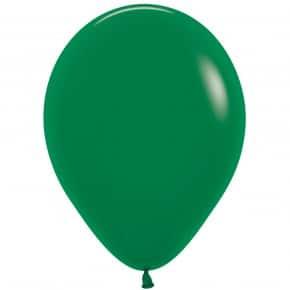Öko-Luftballon Farbe Waldgrü