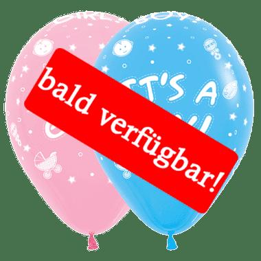 Bald verfügbar: Öko-Luftballon Geburt & Babyshower-bald
