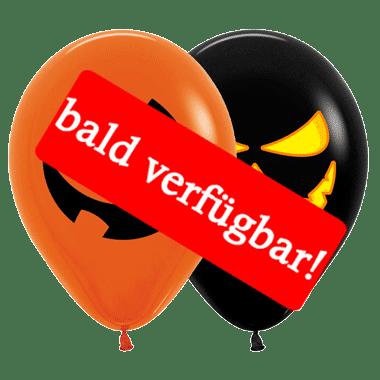 Bald verfügbar: Öko-Luftballon Halloween-bald