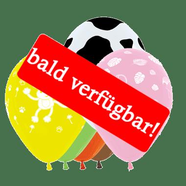 Bald verfügbar: Öko-Luftballon Tiere
