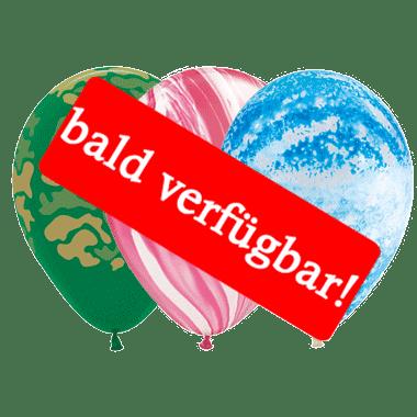 Bald verfügbar: Öko-Luftballon Verschiedene Muster