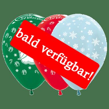 Bald verfügbar: Öko-Luftballon Weihnachten