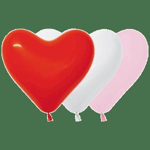 Luftballon-Herz 12 cm
