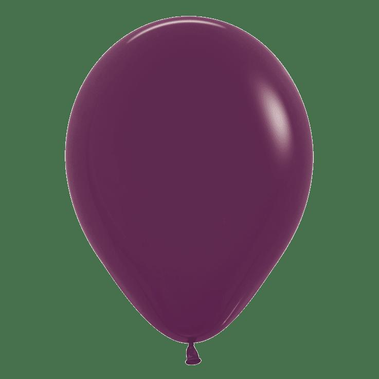 Bio Luftballon 30cm weinrot