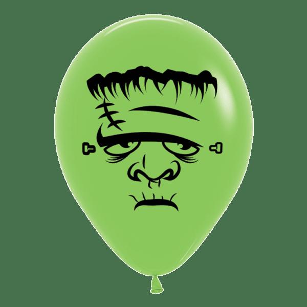 Frankenstein Luftballon grün