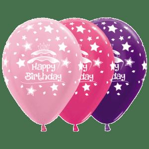 Bio Luftballon Happy Birthday Kuchen Geburtstagskuchen