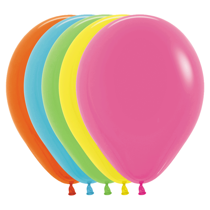 Bio Luftballon 30cm – 002 Tropical Mischung 50 St.