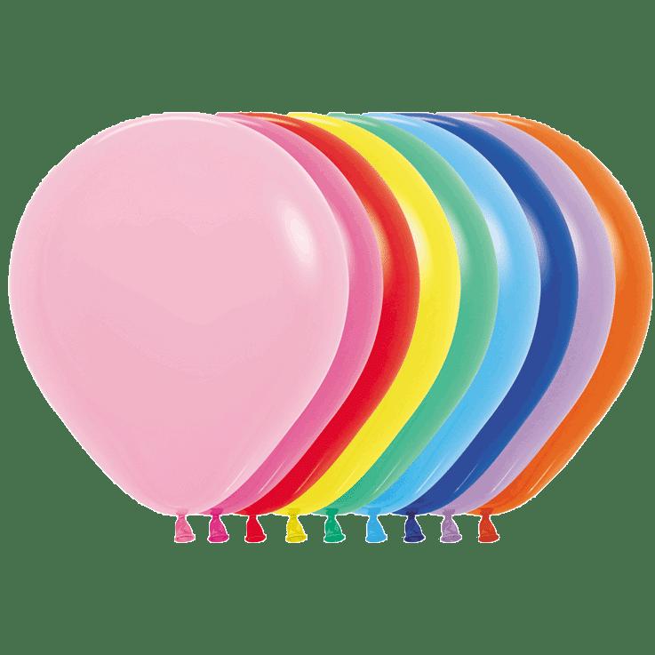 Bio Luftballon 45cm – 000 Fashion Mischung 25 St.