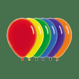 Öko-Luftballons Kristall-Farben